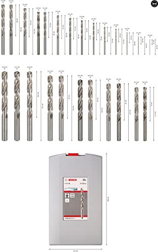 Bosch25tlg. Metallbohrer-Set - 3