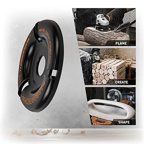 Arbortech Turboplane – Winkelschleifer Aufsatz zum Holz fräsen - 3