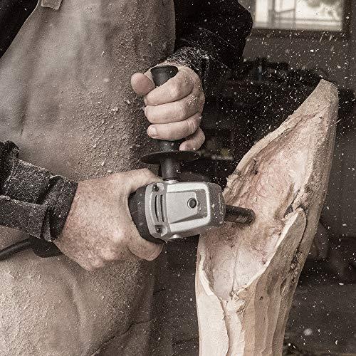 ARBORTECH TURBO Shaft   Ø 20 mm Fräs Aufsatz für Winkelschleifer zur Holzbearbeitung - 4