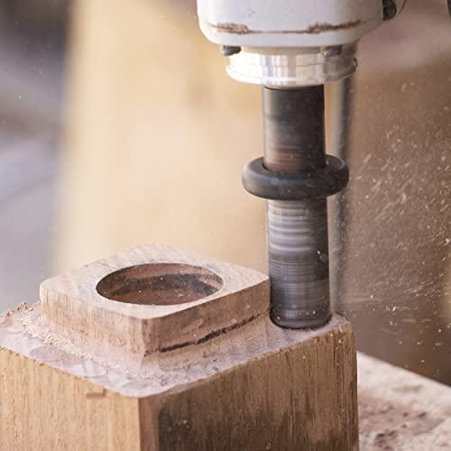 ARBORTECH TURBO Shaft   Ø 20 mm Fräs Aufsatz für Winkelschleifer zur Holzbearbeitung - 2
