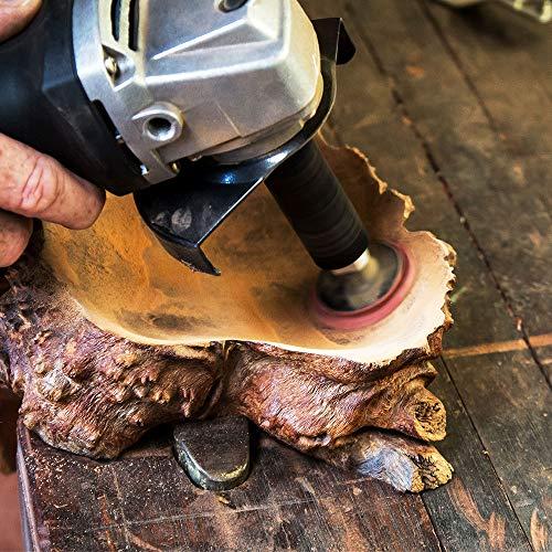 ARBORTECH Contour Sander | Ø 50 mm  Exzenterschleifer Aufsatz für Winkelschleifer zur Holzbearbeitung - 2