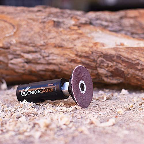 ARBORTECH Contour Sander | Ø 50 mm  Exzenterschleifer Aufsatz für Winkelschleifer zur Holzbearbeitung - 6
