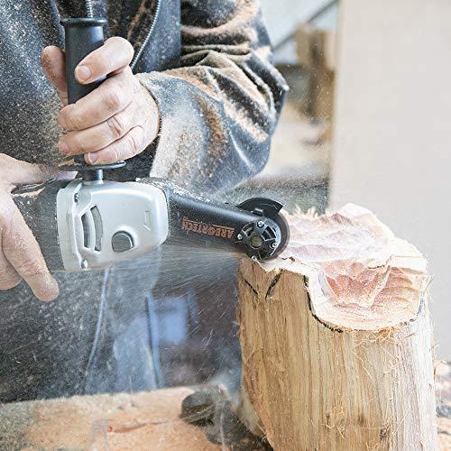 ARBORTECH Mini Carver | Ø 50 mm Winkelschleifer zur Holzbearbeitung - 5
