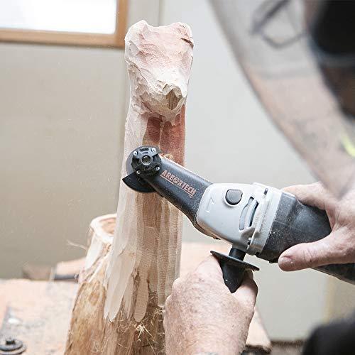 ARBORTECH Mini Carver | Ø 50 mm Winkelschleifer zur Holzbearbeitung - 6
