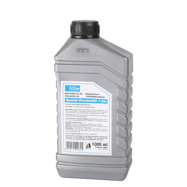 Druckluft- Öl 1 Liter mineralisch Druckluftöl für Druckluftwerkzeuge
