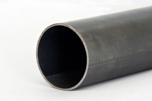 Rundrohr 14,0x1,0mm Stahlrohr Schwarz Geschweißt Länge 1250mm