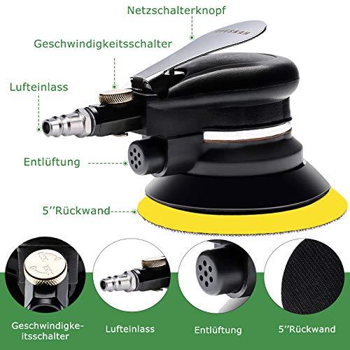 Druckluft Exzenterschleifer Poliermaschine - 2