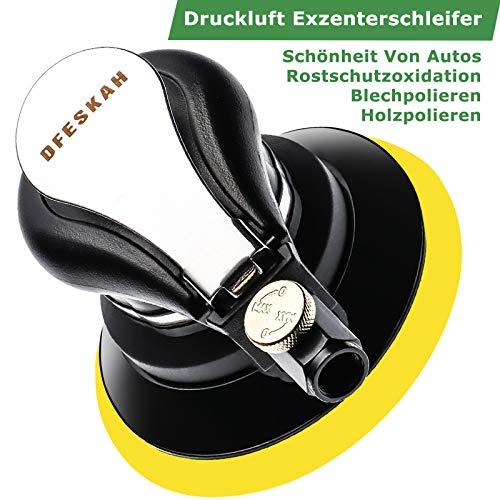 Druckluft Exzenterschleifer Poliermaschine - 9