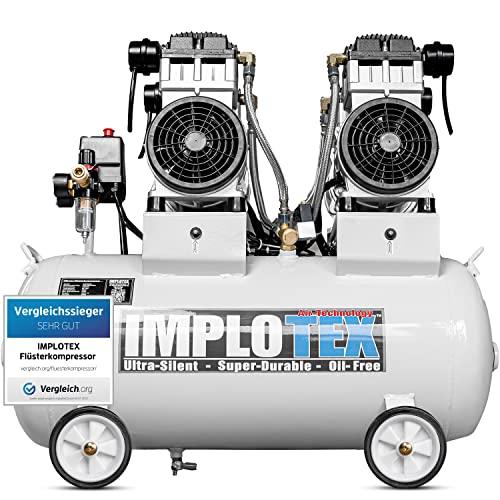 IMPLOTEX 3000W Flüsterkompressor Druckluftkompressor