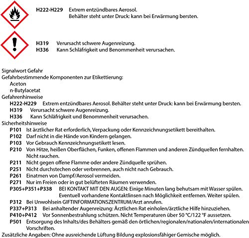 Lackspray  Klarlack glänzend Sprühlack Glanzlack  1x 400ml - 5