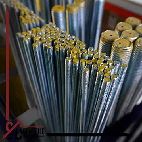 Gewindestange – M12 x 1000 mm – (1 Stück) – DIN 976 / DIN 975 - 3