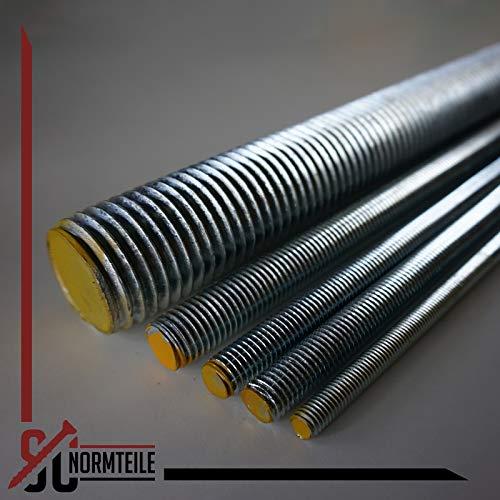 Gewindestange – M12 x 1000 mm – (1 Stück) – DIN 976 / DIN 975 - 4