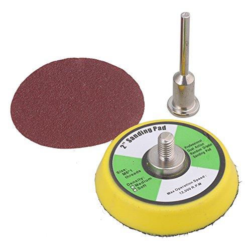 50mm Schleifscheiben Schleifpapier Klett Schleifpad - 2