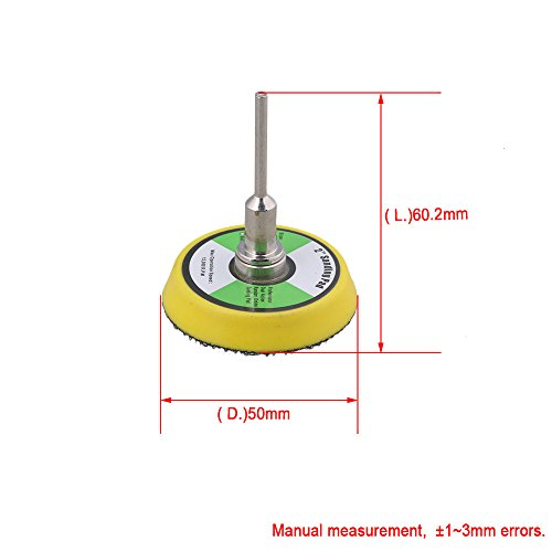 50mm Schleifscheiben Schleifpapier Klett Schleifpad - 5