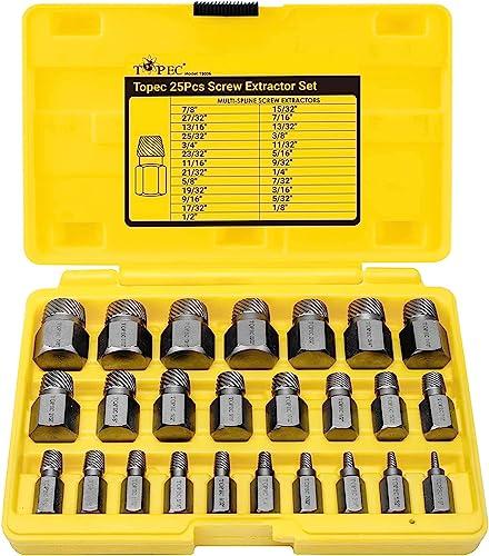 Schraubenausdreher-Set groß 2-12mm