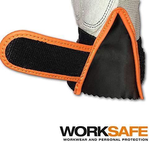 Worksafe M40 – Arbeitshandschuhe Kunstleder - 4