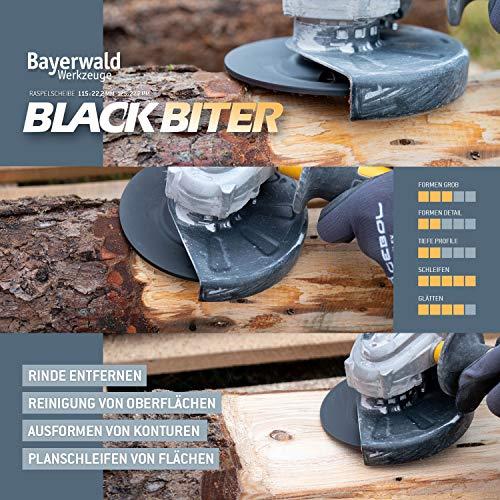Bayerwald Black Biter Raspelscheibe - 3