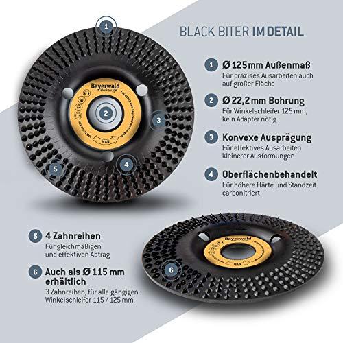 Bayerwald Black Biter Raspelscheibe - 4