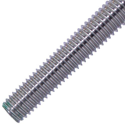 Gewindestäbe M6-1 Meter aus Edelstahl A2 (2 Stück)   DIN 975 / DIN 976 - Gewindestangen von MESAROS®