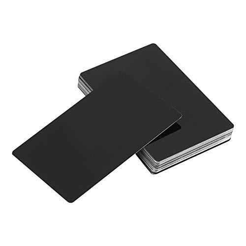 Metall Visitenkarten für Gravur