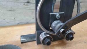 Biegemaschine für Flachstahl