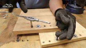 Metrische Gewinde in Holz