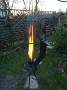 Feuerrohr Feuervogel