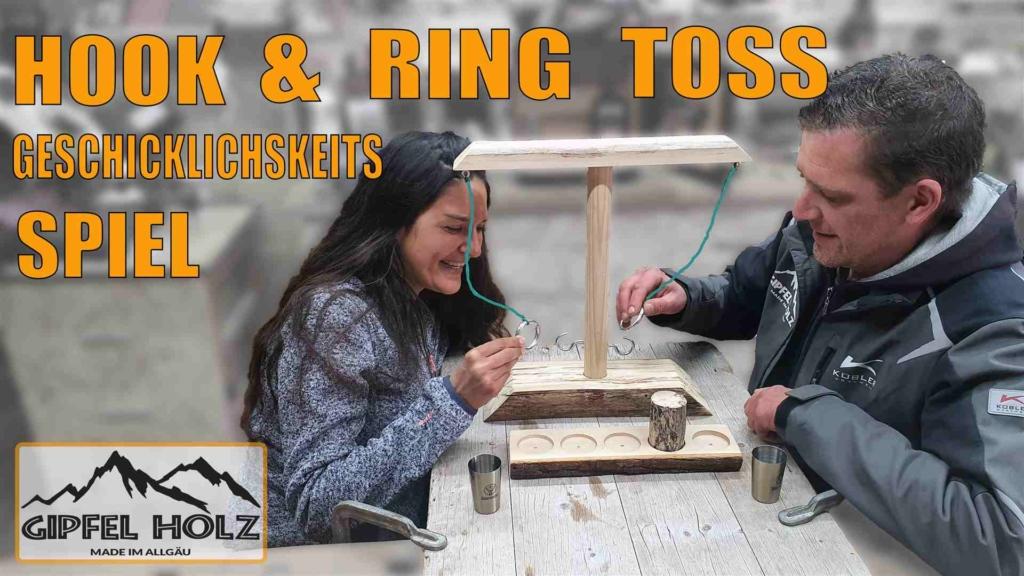 Ring und Hook Toss Spiel